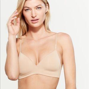 Calvin Klein sculpted mesh wing bra
